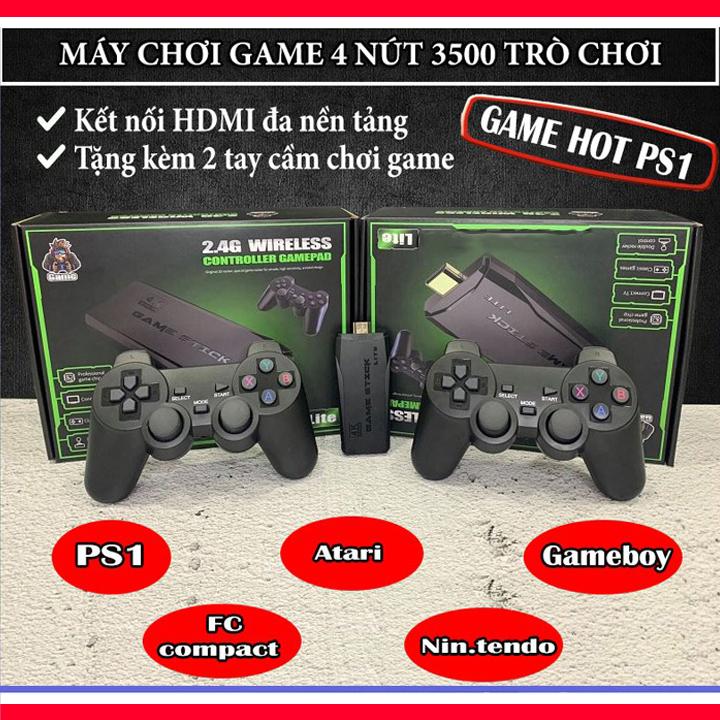 Máy chơi game cầm tay 4 nút HDMI 3500 trò chơi cổ điển PS1/Nitendo switch/FC Compact/FC