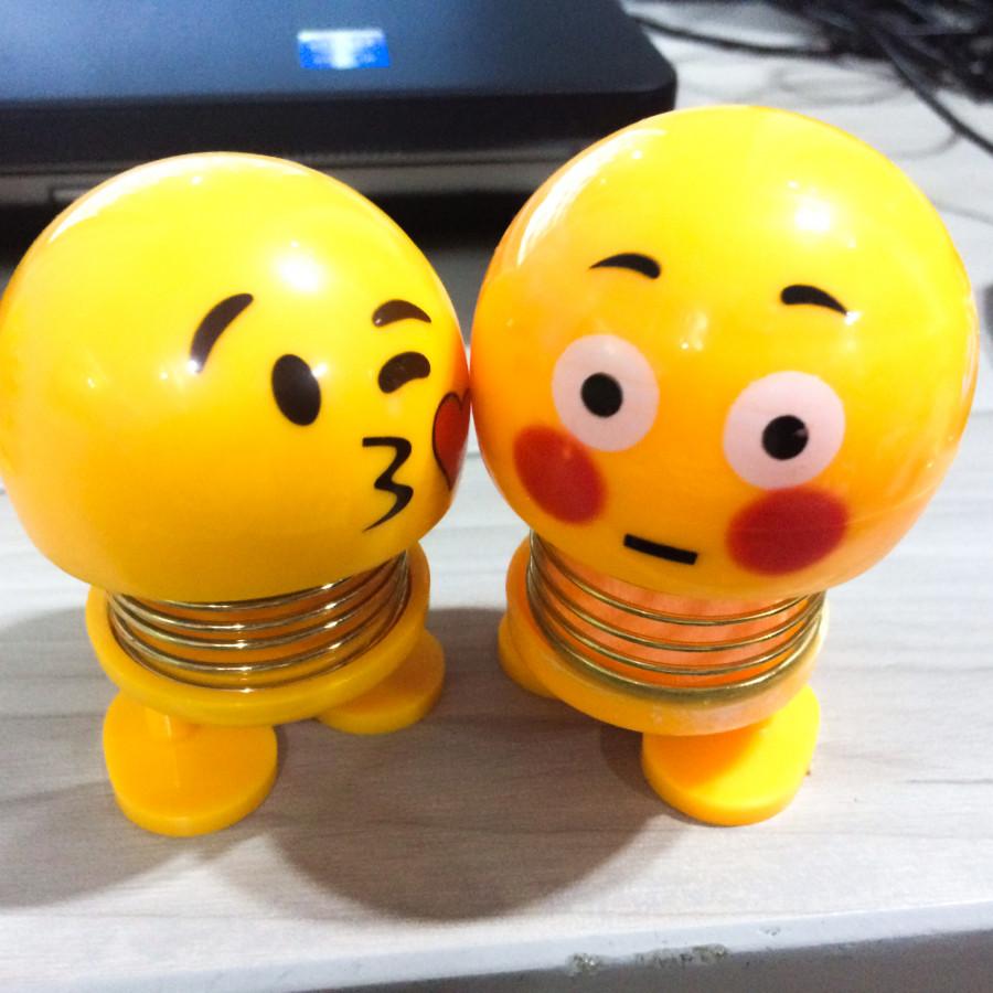 Bộ đồ chơi Emoji (Hôn lén) 2 con - Hàng nhập khẩu