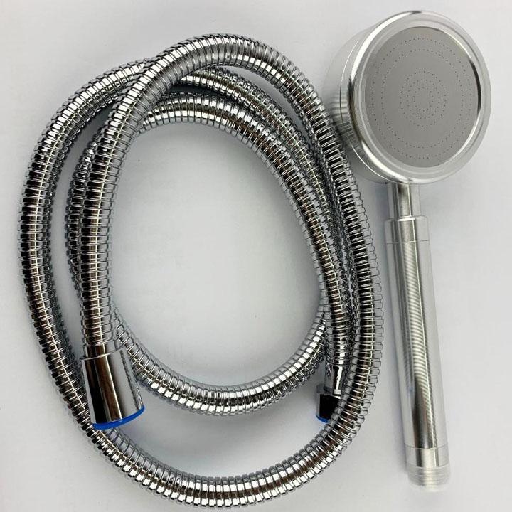 Bộ vòi sen, dây vòi nhôm đúc tăng áp cao cấp