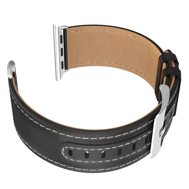 Dây đeo da Hoco dành cho Apple iWatch 40mm Series 4 - Hàng chính hãng