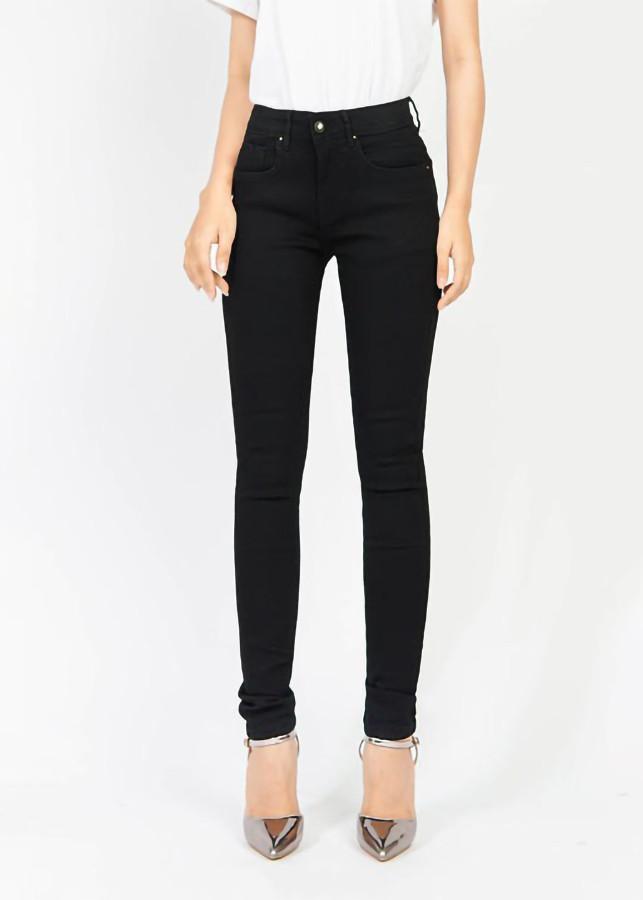 Quần jean nữ đen ôm 3