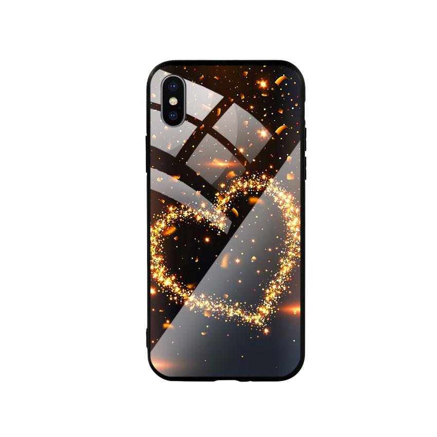 Ốp Lưng Kính Cường Lực cho điện thoại Iphone X  Xs - Heat 09
