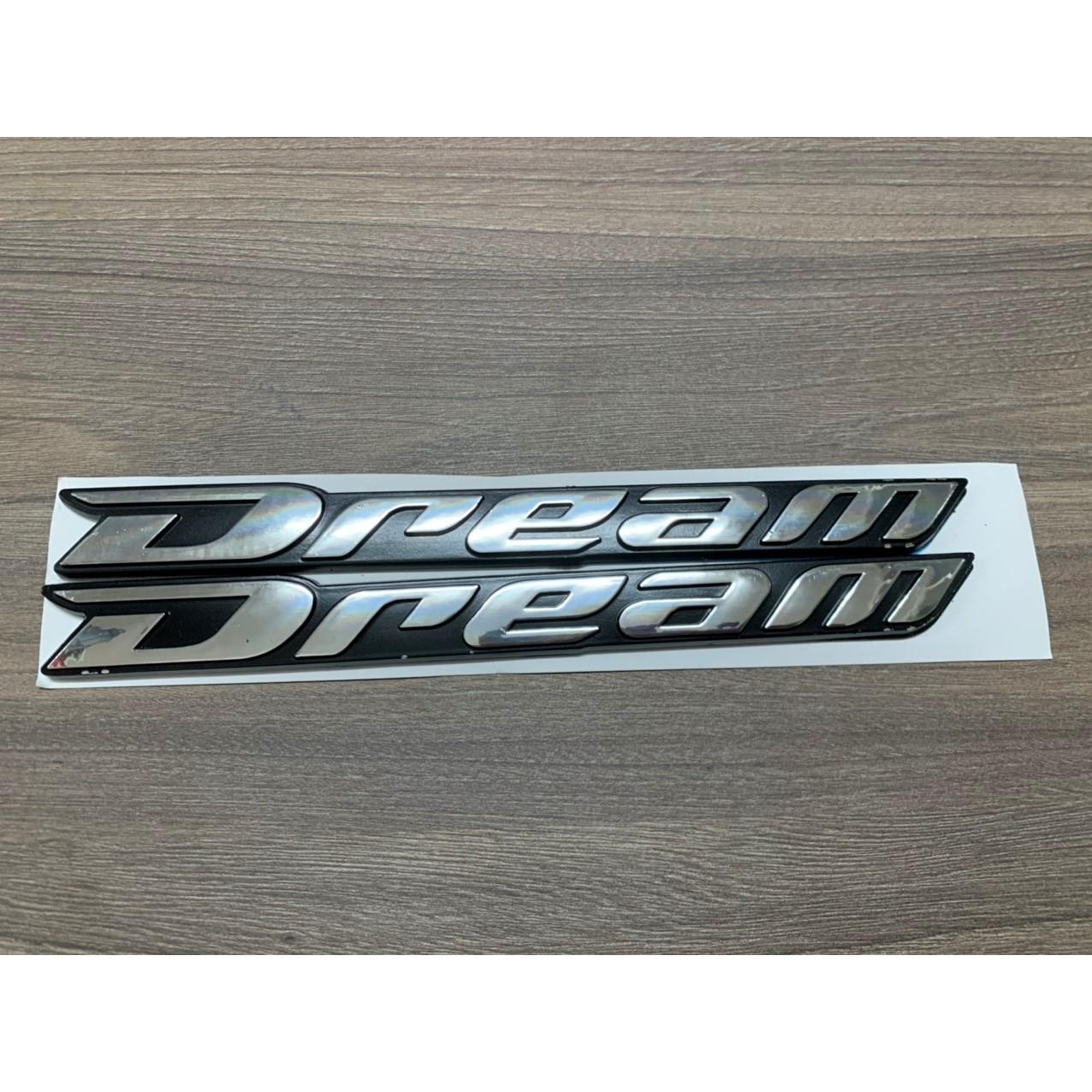Tem chữ nổi dành cho xe máy Deam