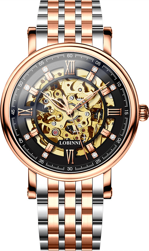 Đồng hồ nam chính hãng LOBINNI L9010-8