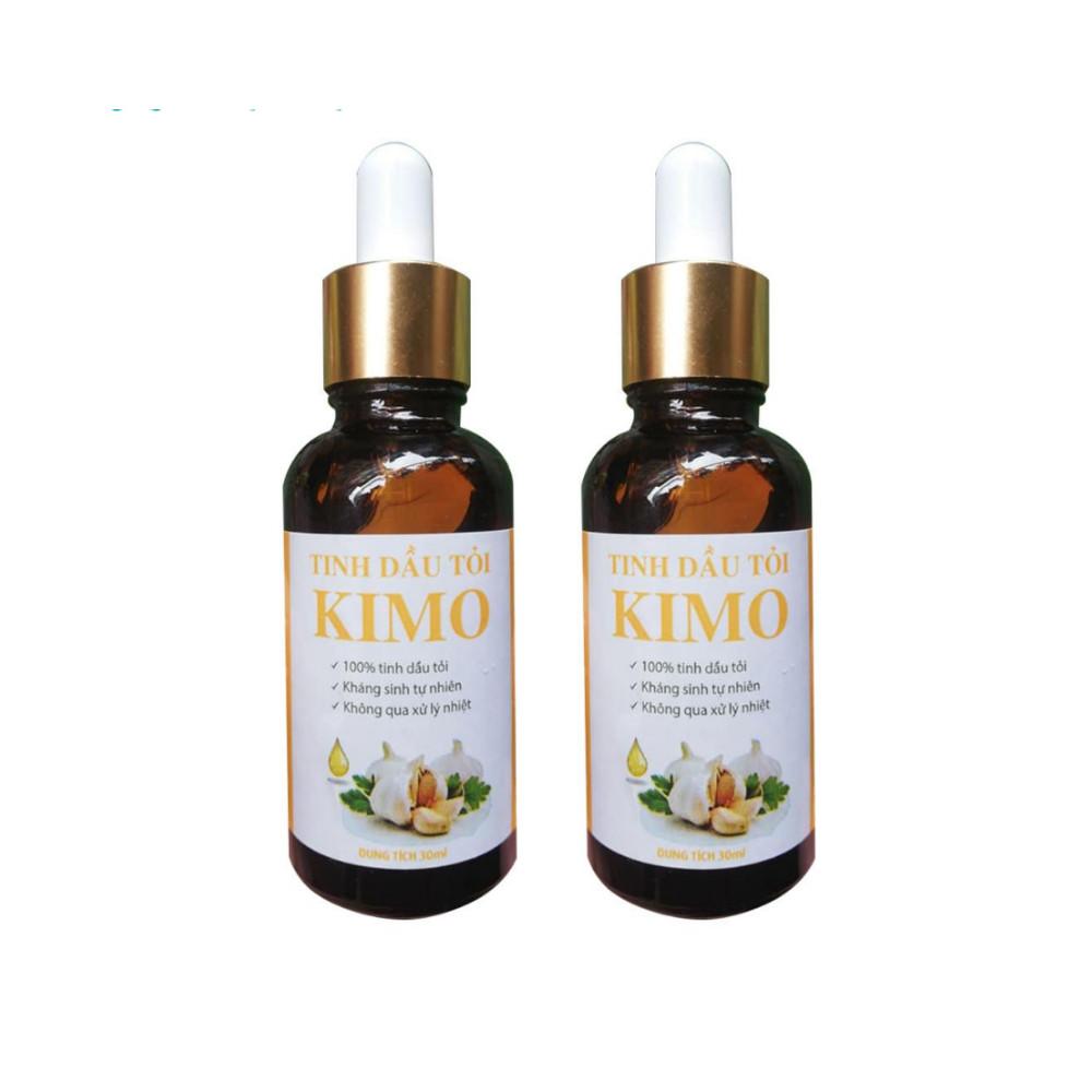 Combo 2 chai Tinh dầu tỏi KIMO I 100% tinh dầu tỏi nguyên chất