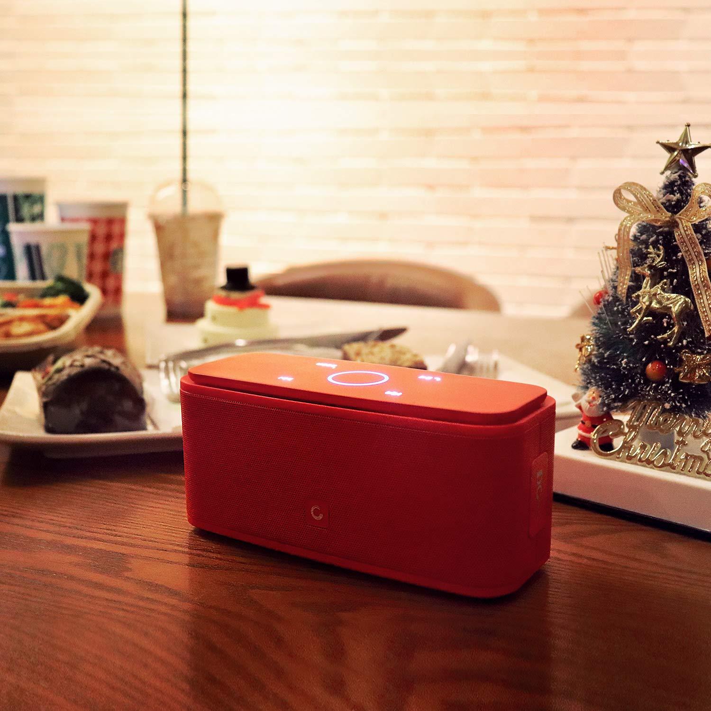 Loa bluetooth DOSS SoundBox Touch ( Màu Đỏ) - Hàng Chính Hãng