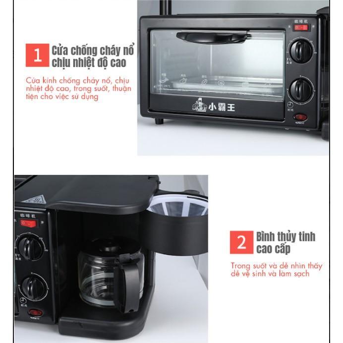 Lò nướng kiêm máy pha cà phê cao cấp[.2019