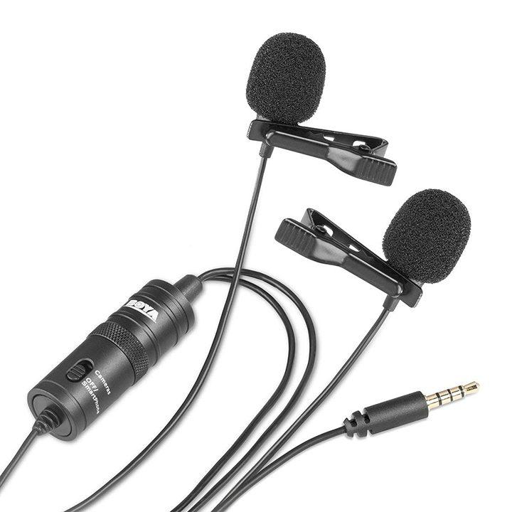 BOYA BY-M1 mic thu âm cao cấp cho điện thoại, máy tính, máy quay- Hàng Chính Hãng