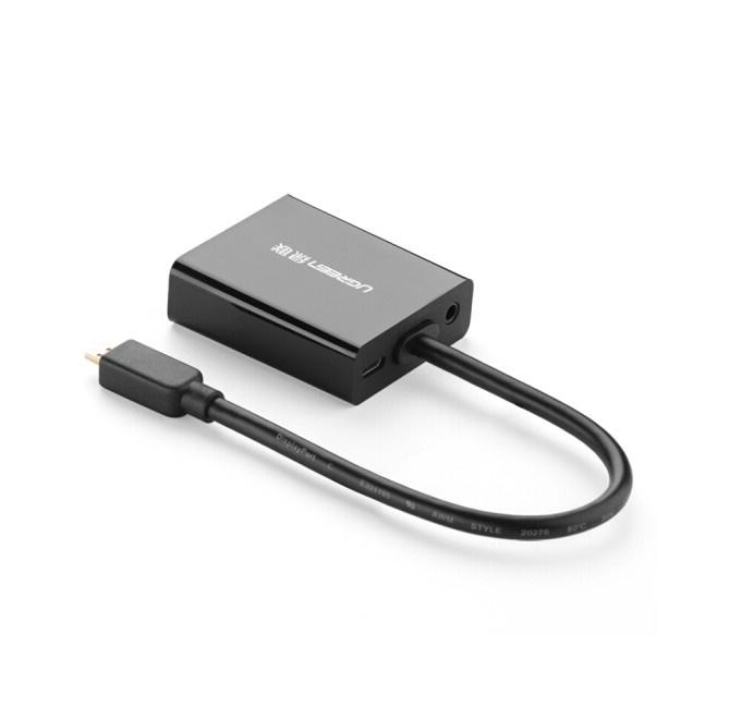 Cáp chuyển đổi Micro HDMI to VGA Ugreen 40268