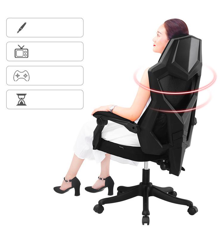 Ghế Văn Phòng Hỗ Trợ Cột Sống Lưng, Ngả Lưng & Gác Chân Thư Giãn AZP-9110 - Mẫu 2021 Phong Cách Thời Trang Đương Đại