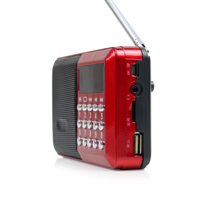 Loa nghe nhạc mini, nghe kinh phật, đài fm CR-26 – Hỗ trợ thẻ nhớ, USB
