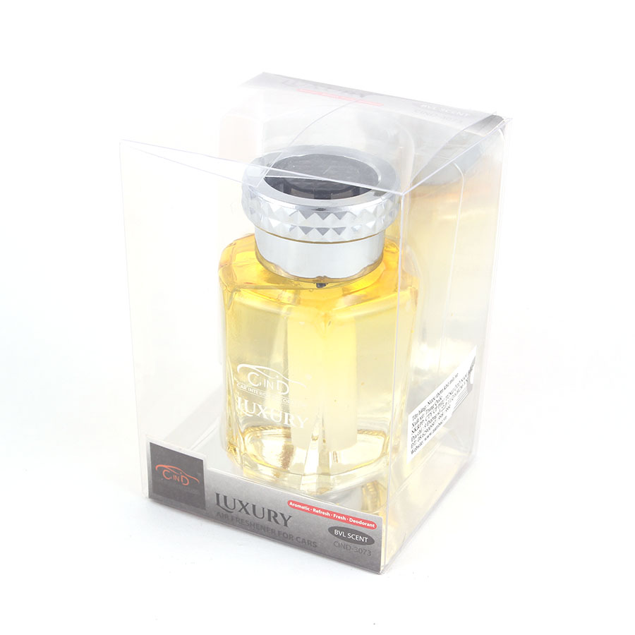 Nước hoa ô tô LUXURY CIND-3073 BVL Scent 130ml