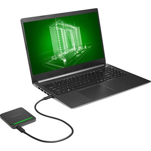 Ổ Cứng SSD Di Động Barracuda Fast SSD 500GB 2.5'' USB Type C (STJM500400) - Hàng Chính Hãng