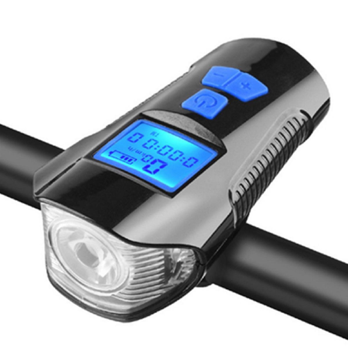 Đồng Hồ Tốc Độ Kết Hợp Đèn Còi Xe Đạp Chính Hãng MPEDA 317 | Phụ Kiện Xe Đạp Đa Năng | Đèn Pha Xe Đạp Siêu Sáng 500 Lumens | Còi Hú Vang 120dB | Đồng Hồ Đo Tốc Độ Đạp Xe