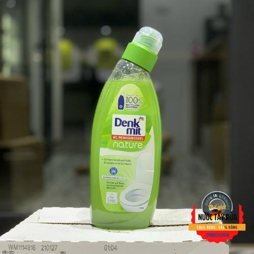 Combo Nước tẩy rửa nhà vệ sinh, tẩy cặn nước tiểu, Dung Dịch tẩy rửa Bồn Cầu Denkmit WC