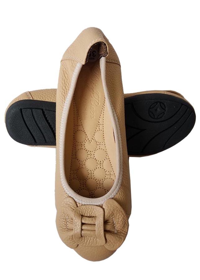 Giày Búp Bê BIGGBEN Da Bò Thật Cao Cấp BB24