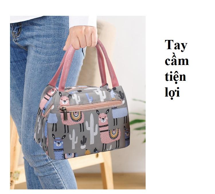 Túi giữ nhiệt đa năng Tặng kèm 1 khuôn làm bánh gối (giao màu ngẫu nhiên)