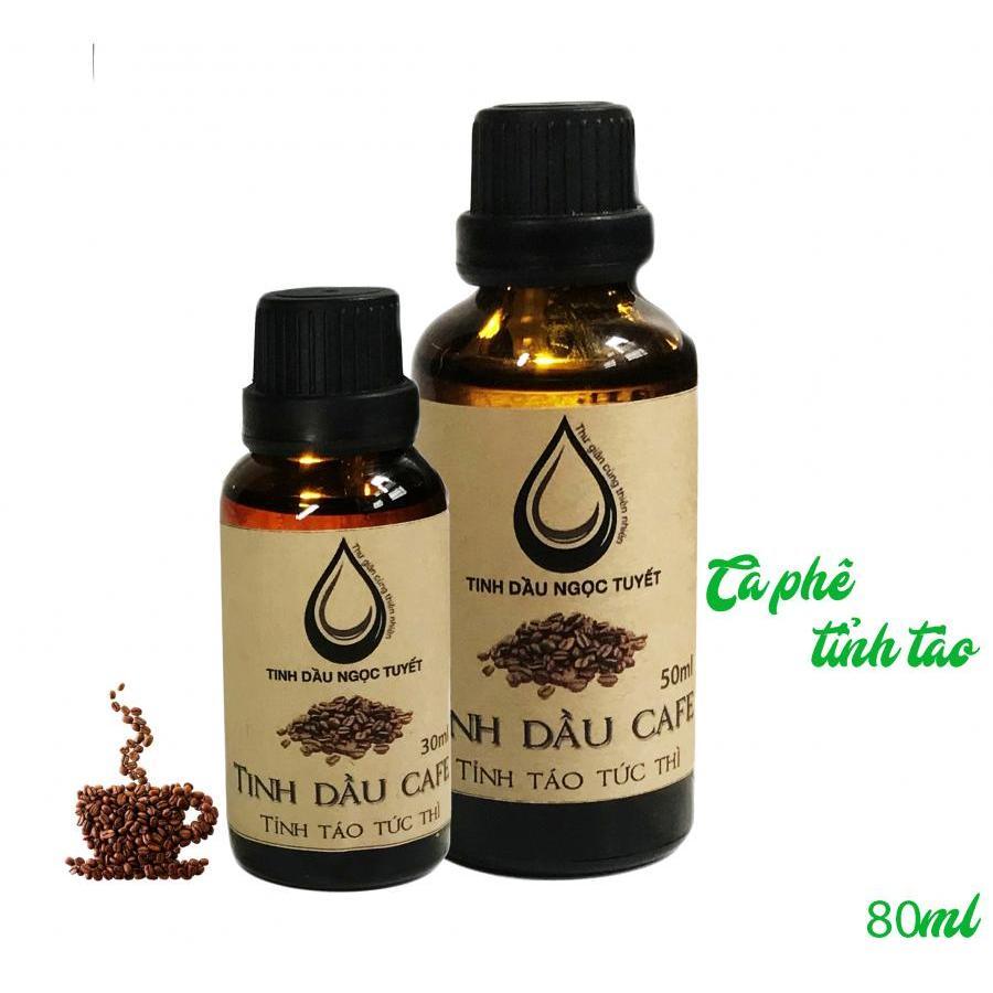 Combo 2 tinh dầu Cafe thiên nhiên giúp thư giản, tinh táo khi lái xe Ngọc Tuyết 50mlx30ml