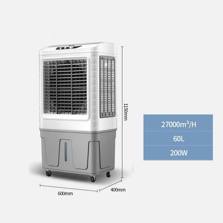 Quạt hơi nước công nghiệp cao cấp dung tích 60.5L