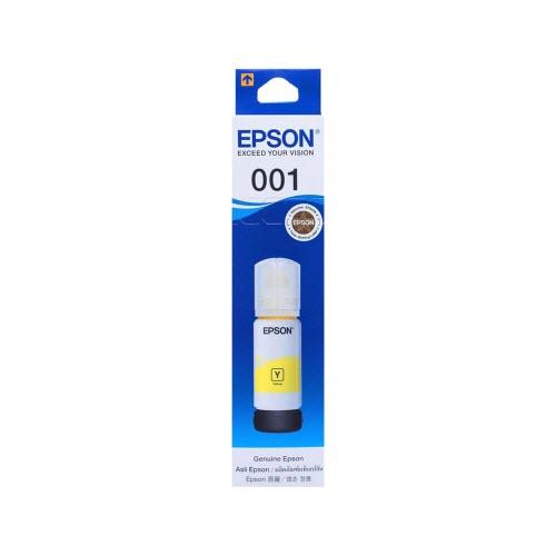 Mực in Epson 001 (C13T03Y400) Yellow Ink Bottle - Dùng cho Epson L4150, L4160/ L6160/ L6170/ L6190/ L6191 - Hàng chính Hãng