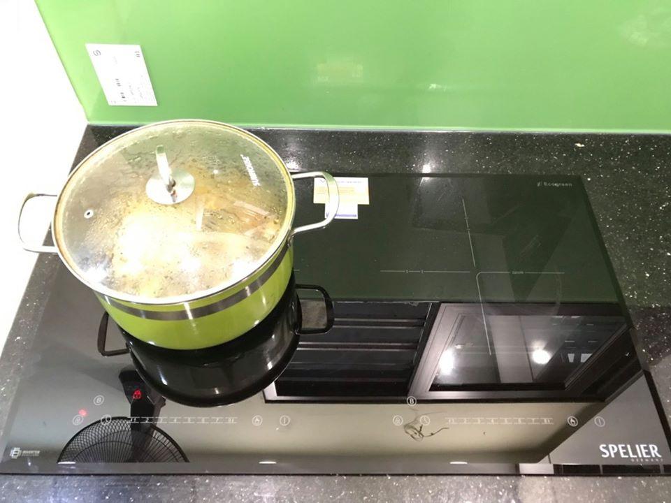 Bếp từ đôi Spelier SPM-728I Plus - Hàng Chính Hãng
