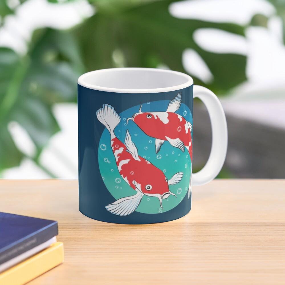 Cốc sứ cá KOI Nhật Bản