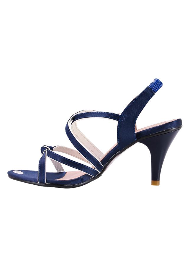 Giày Sandal Nữ Cao Gót Huy Hoàng HT7058 - Xanh
