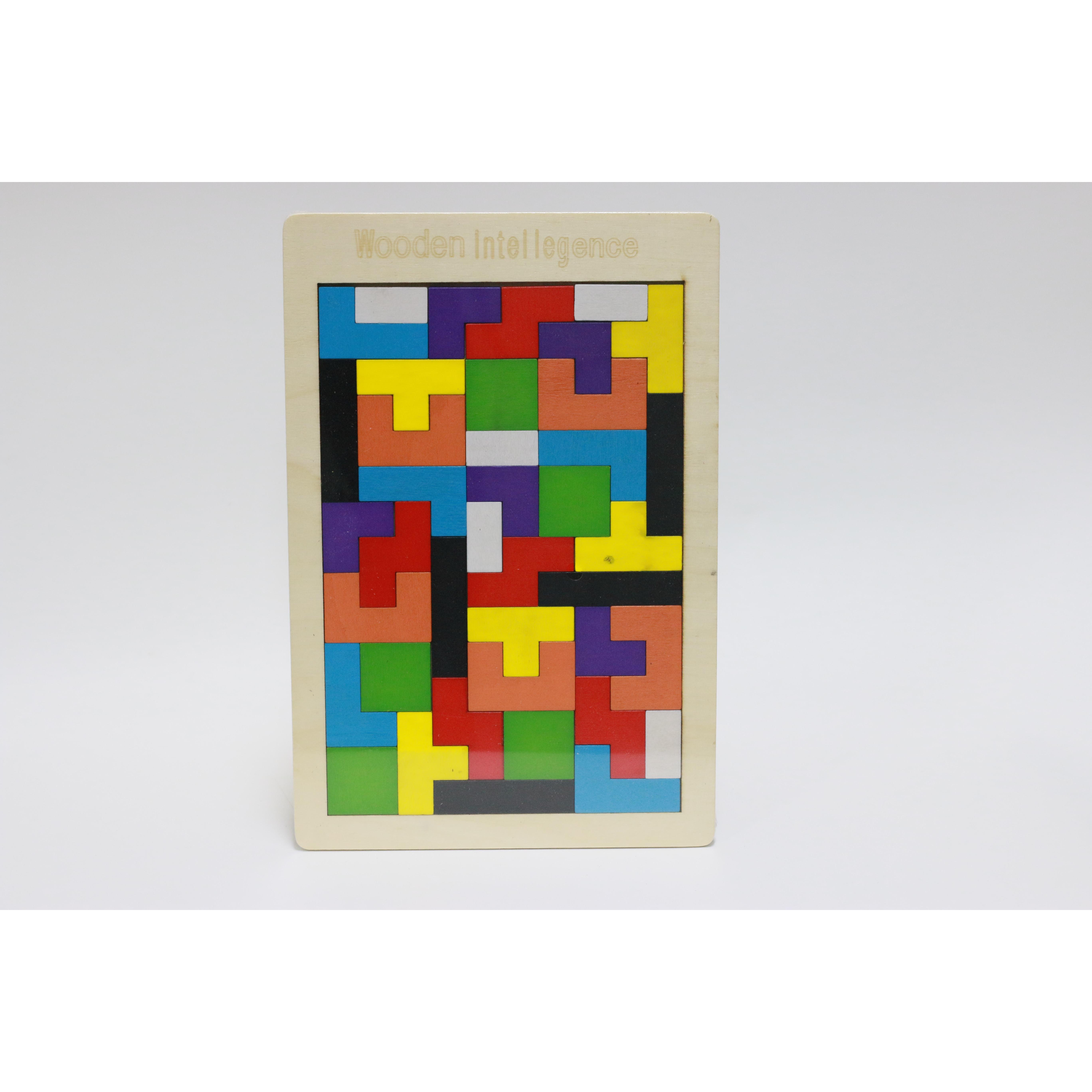 Bộ xếp hình gỗ Tetris