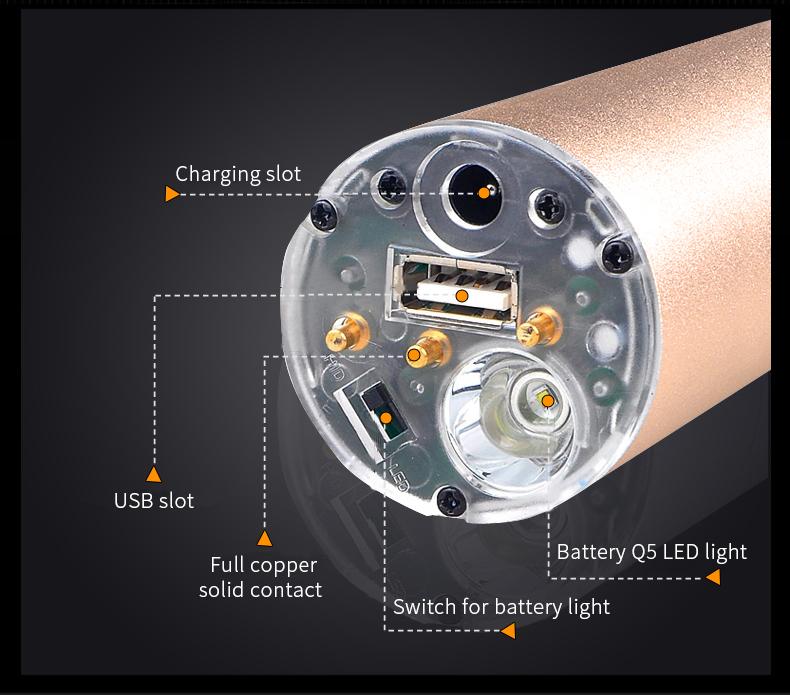 Đèn pin sạc tìm kiếm cứu nạn chống nước TERINO TP70 (1-2km) (LED)