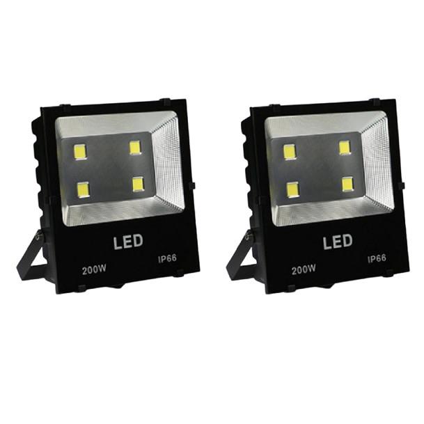 Bộ 2 đèn Led pha COB 200W