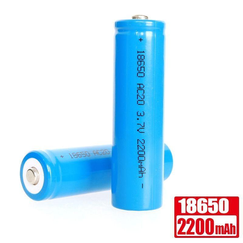 Pin sạc 3.7V 18650 2200mAh cho sạc dự phòng, đèn pin, đồ chơi