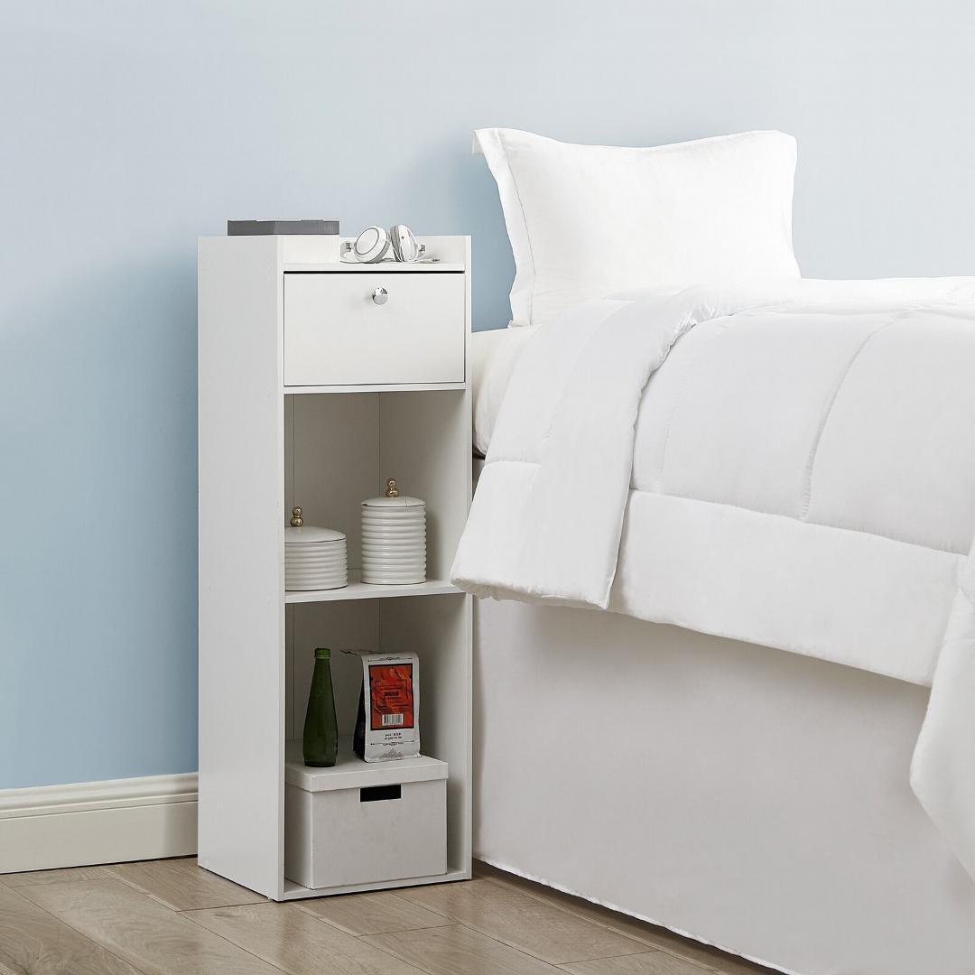 Tủ gỗ đầu giường hiện đại SMLIFE Nicki