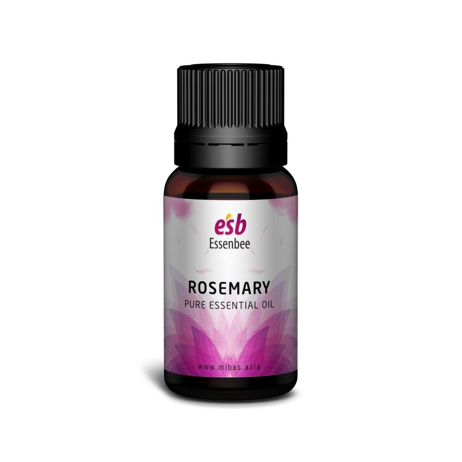 Tinh dầu Hương Thảo (Rosemary) – Essenbee – 20ml - 100% nguyên chất, hỗ trợ thư giãn tinh thần hiệu quả và xua đuổi muỗi an toàn