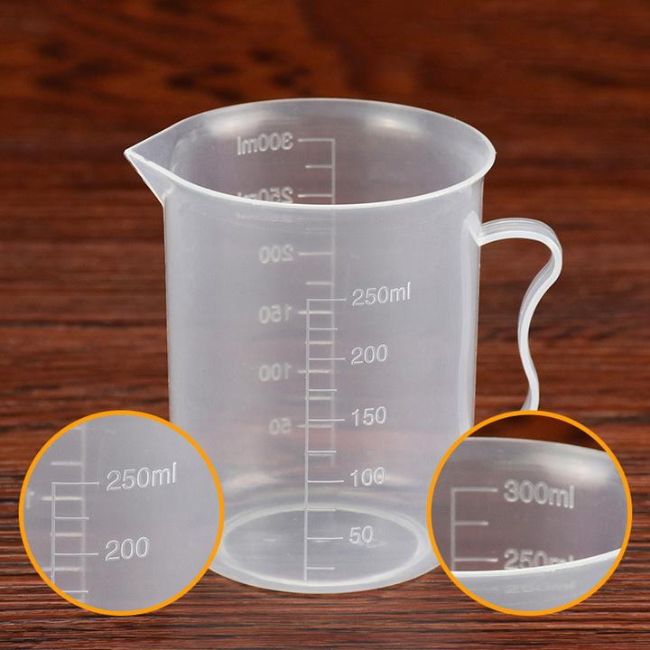 Bộ 2 ca đong nhựa pha chế 300ml