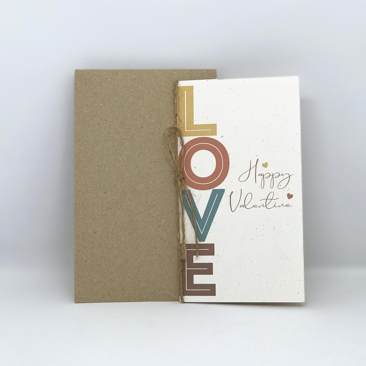 Thiệp valentine imFRIDAY LOV6