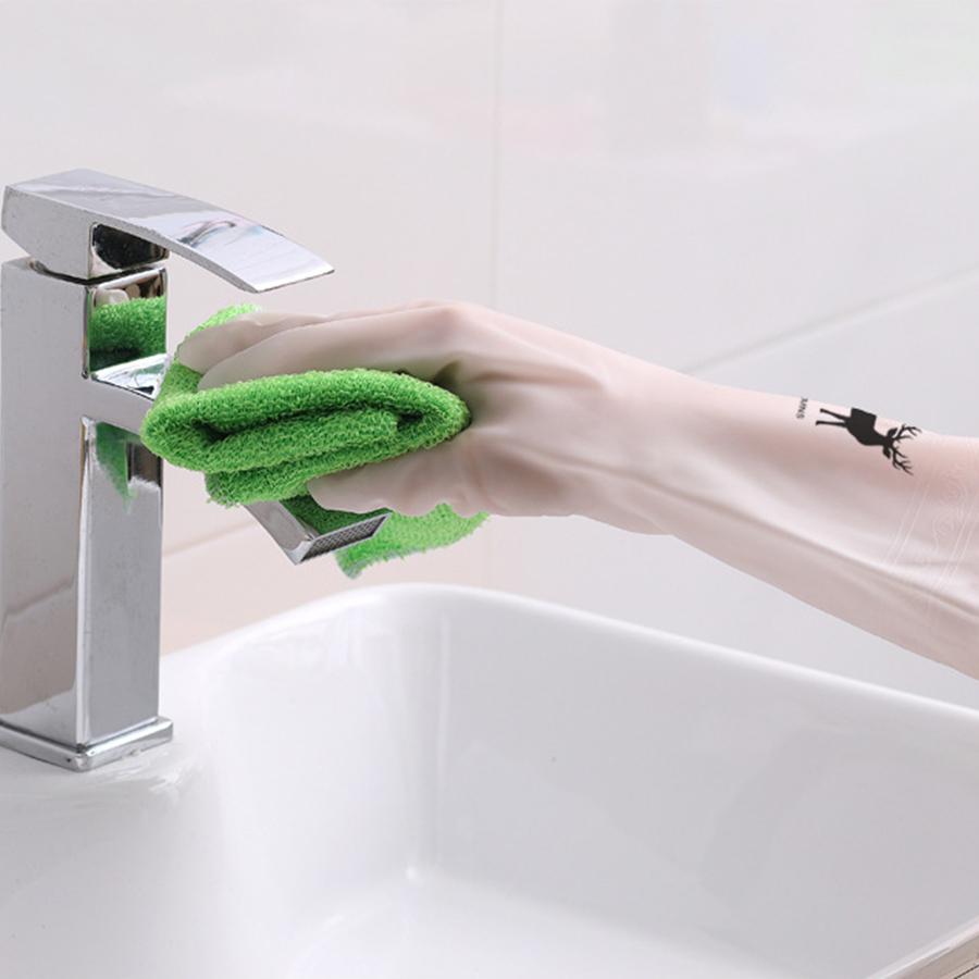 Găng Tay Siêu Dai - Dùng Rửa Chén, Giặt Giũ, Vệ Sinh Nhà Cửa