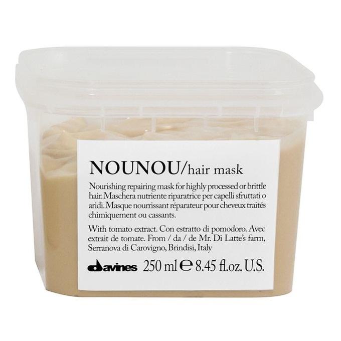 Mặt nạ ủ (hấp dầu) phục hồi tóc hư tổn Davines Nounou Hair mask 250ml