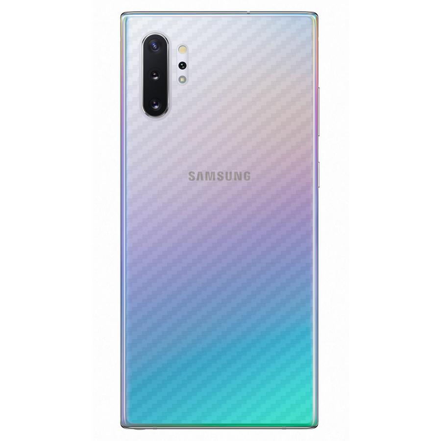 Miếng Dán Mặt Lưng Cacbon Dành Cho Samsung Galaxy Note 10 Plus- Handtown - Hàng Chính Hãng