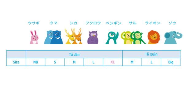 Bô 2 Tã quần siêu cao cấp Nhật Bản Whito (M, 58 miếng) 3