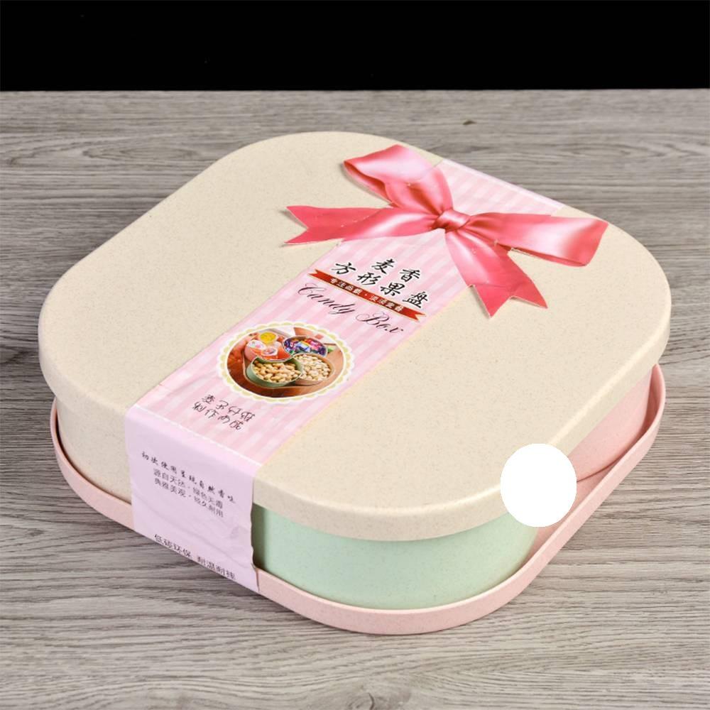 Khay Bánh Kẹo Xuất Nhật 4 Ngăn Size 24.5 cm
