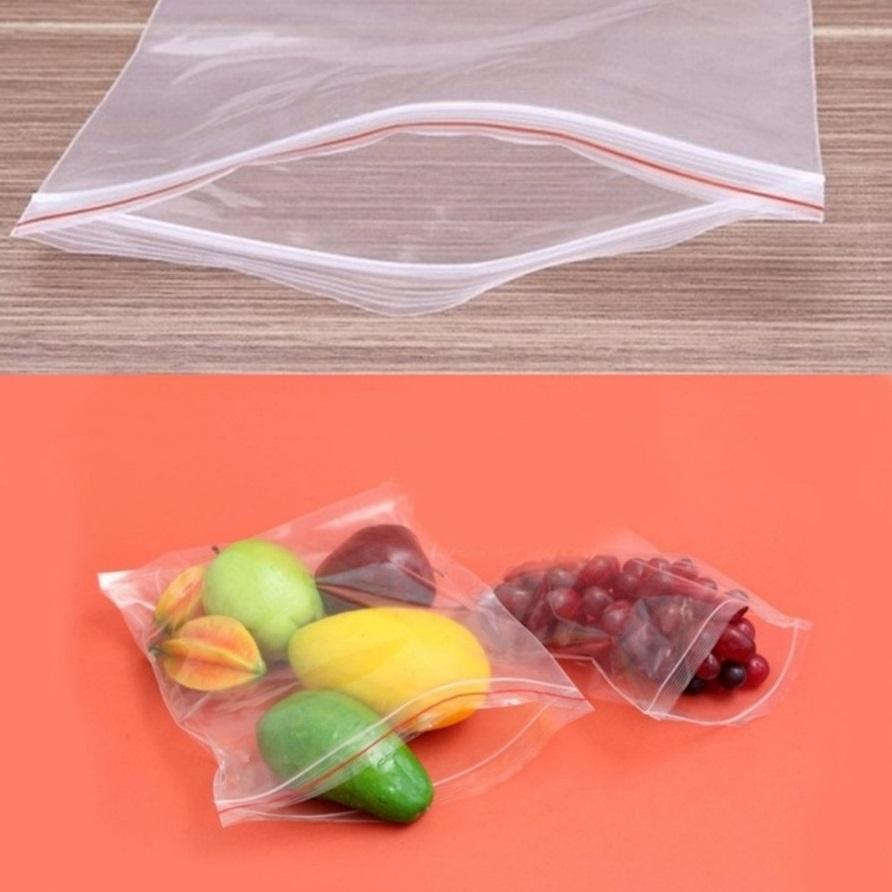1 kg túi zipper viền đỏ size 6x8 (cm)