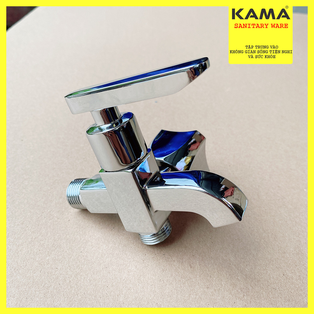 Củ sen tắm lạnh vòi hoa sen lạnh hợp kim mạ crome sáng đẹp, mẫu mới của KAMA.