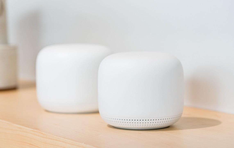 Bộ phát tín hiệu WIFI thông minh Google Nest Wifi 2 Pack - Hàng nhập khẩu