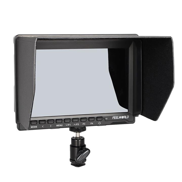 Màn Hình Hỗ Trợ Quay Monitor Feelworld 7inch HD IPS Có Peaking Focus FW759 - Hàng Nhập Khẩu