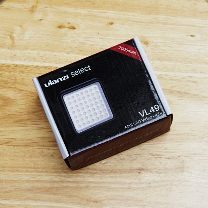 Đèn Led Trợ Sáng Cho Máy Ảnh, Điện thoại Ulanzi VL49 - Hàng Chính Hãng