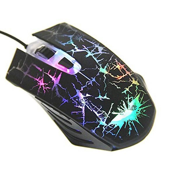 Chuột chơi Game có dây có đèn led 7 màu