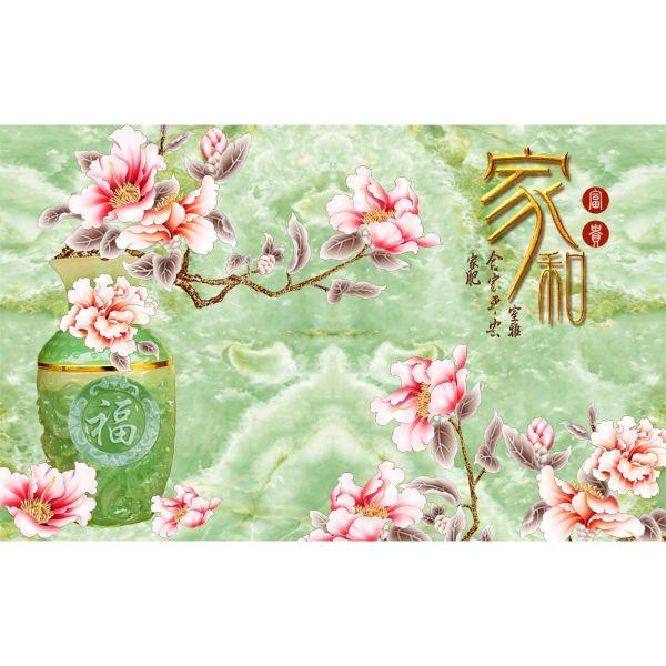 Decal Dán Tường - Tranh Bình Hoa - T3M--3172-copy