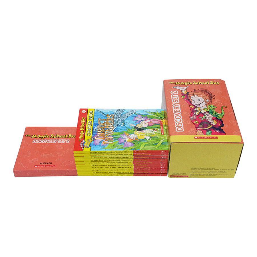 Magic School Bus Discovery Set 2 (With CD)