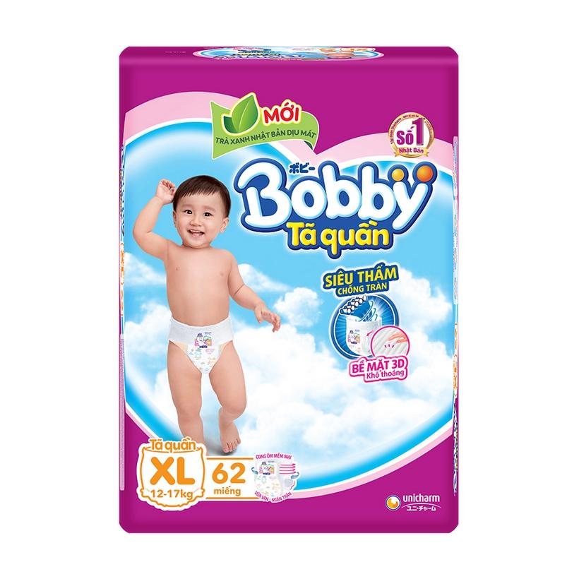 Tã Quần Bobby Fresh Siêu Thoáng  -  XL62