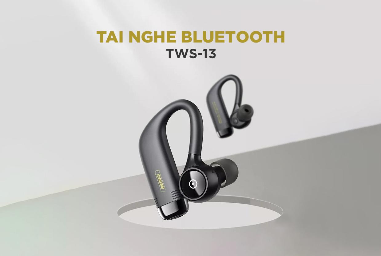 Tai nghe True wireless thể thao Remax TWS-13 - Hàng chính hãng